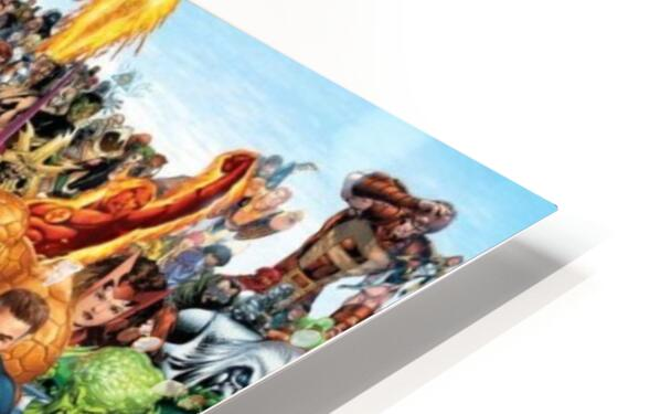 R-eady for battle HD Sublimation Metal print