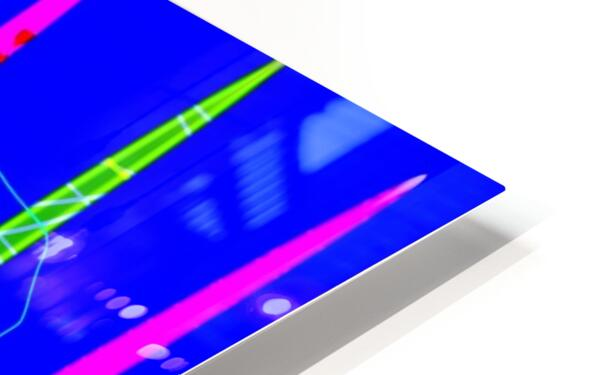 HorizonBlue HD Sublimation Metal print