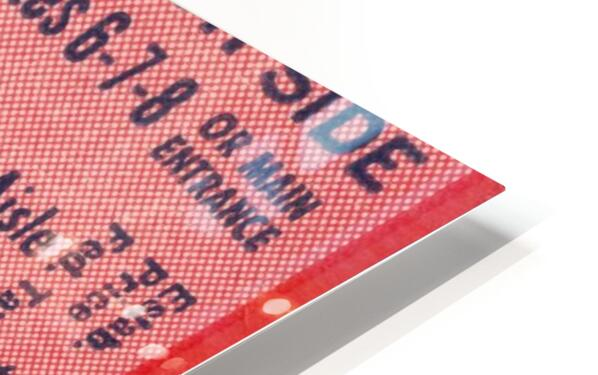 1950 Mississippi State vs. Georgia HD Sublimation Metal print