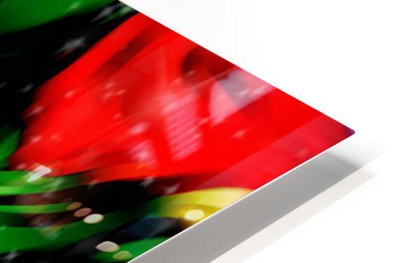 Colour Warriors  HD Sublimation Metal print