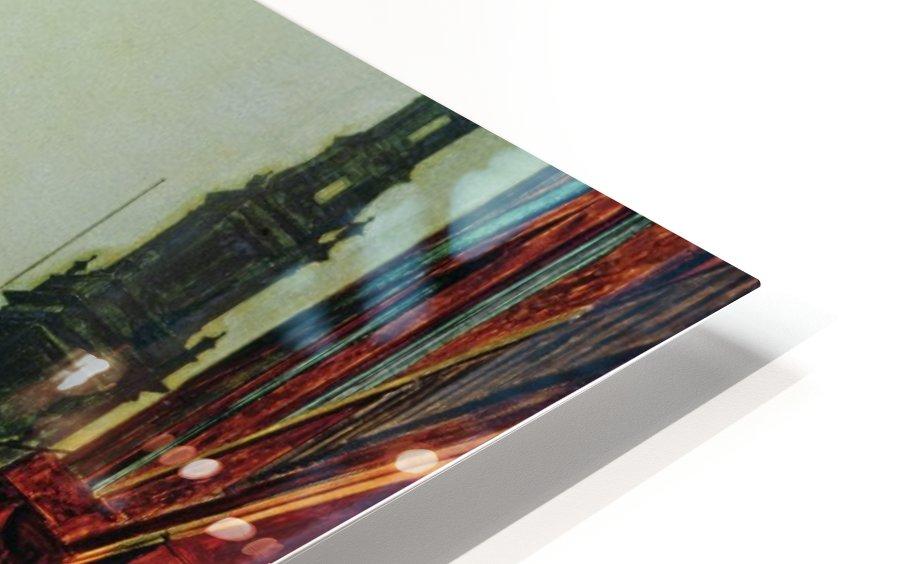 Boar Lane, Leeds HD Sublimation Metal print