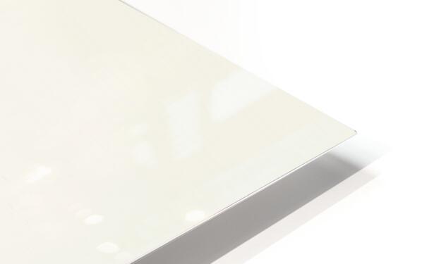 Magenta Sunrise HD Sublimation Metal print