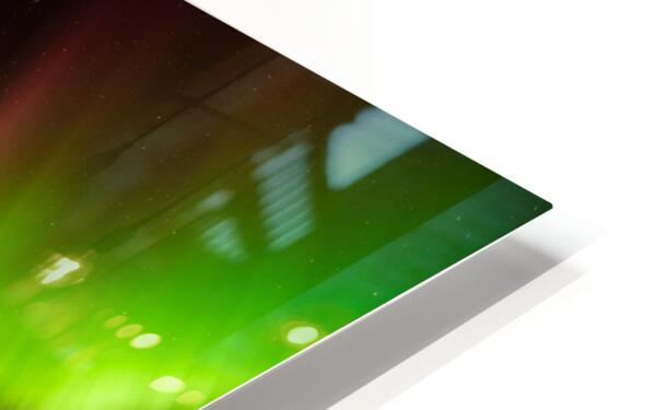 AURORA LANDING HD Sublimation Metal print