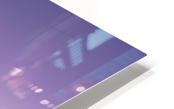 Silhouette HD Sublimation Metal print