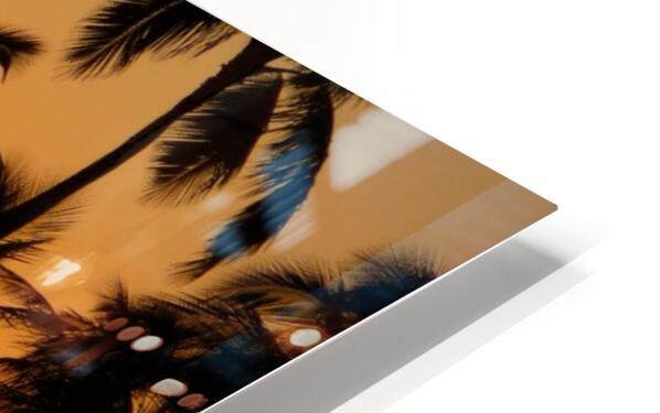 Golden HD Sublimation Metal print