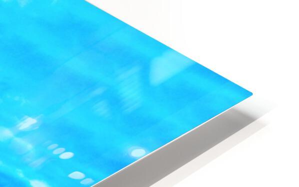 Blue World HD Sublimation Metal print