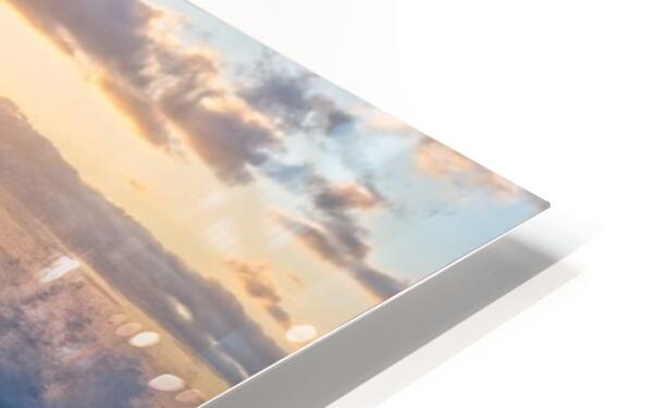 Reflections at the Sea Shore HD Sublimation Metal print