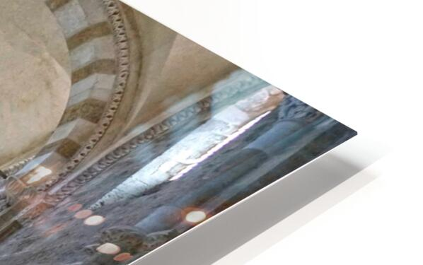 Basilica of Sainte Marie Madeleine 4 of 5 @ Vezelay France HD Sublimation Metal print
