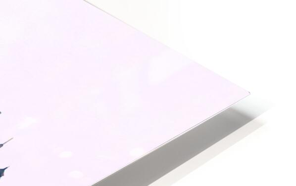 Xian Skyline HD Sublimation Metal print