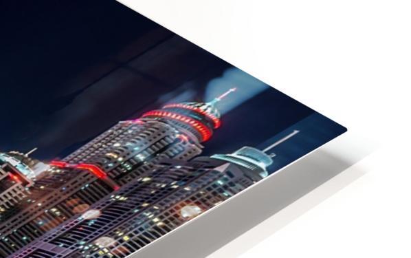 Happy New Year Dubai HD Sublimation Metal print