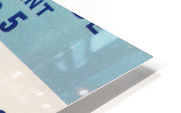 1978 North Carolina Student Ticket HD Sublimation Metal print