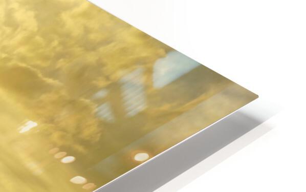 Golden Mont St Michel HD Sublimation Metal print