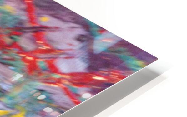 Vibrations HD Sublimation Metal print