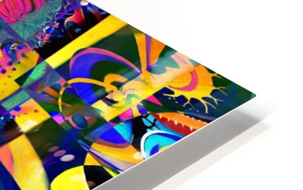 Eclosion fractale HD Sublimation Metal print