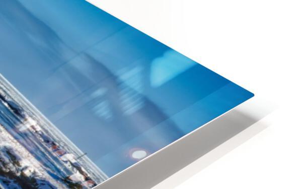 Pointe Saint-Pierre et lIle Plate Impression de sublimation métal HD
