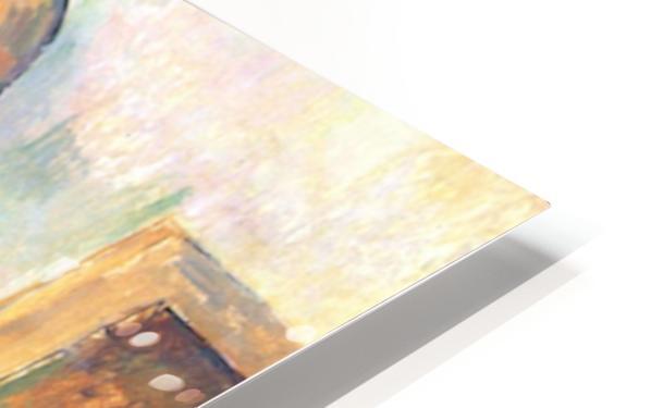 Self-portrait with Pallette by Cezanne HD Sublimation Metal print