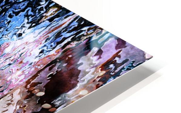 Icecapades HD Sublimation Metal print