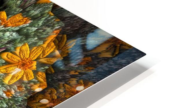 Textures HD Sublimation Metal print