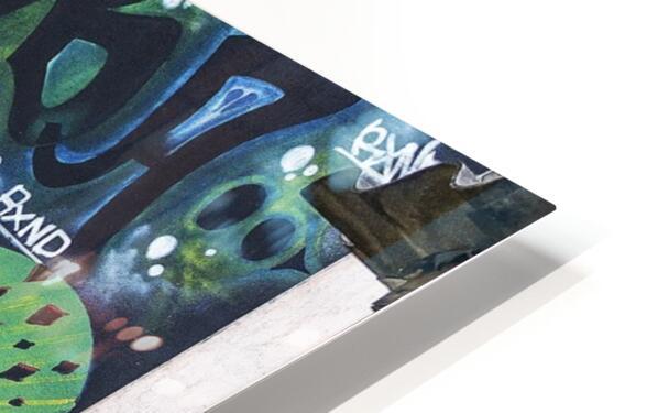 Background Graffiti HD Sublimation Metal print