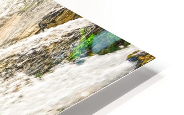 Rocky Mountain Rapids and Waterfalls 3 of 8 HD Sublimation Metal print