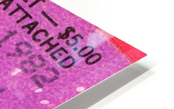 1982 San Francisco Giants Ticket Stub Art HD Sublimation Metal print