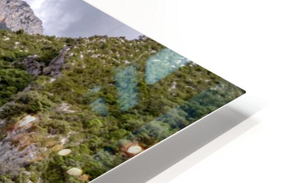 Les Gorges du Verdon HD Sublimation Metal print