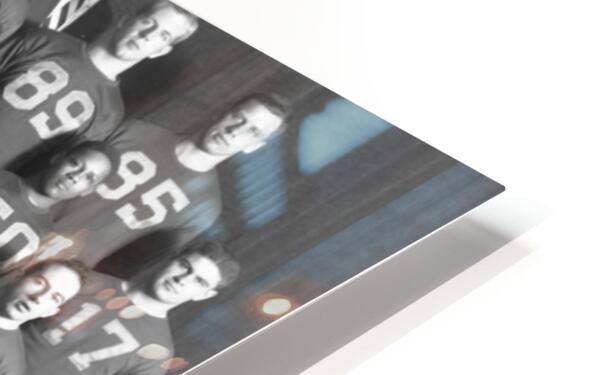 1954 University of Michigan Football Team Photo HD Sublimation Metal print