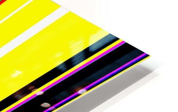Color Bars 2 HD Sublimation Metal print