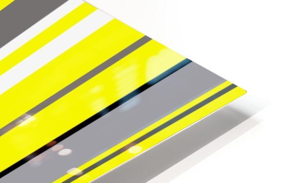 Color Bars 3 HD Sublimation Metal print