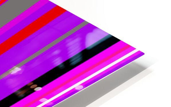 Color Bars 4 HD Sublimation Metal print