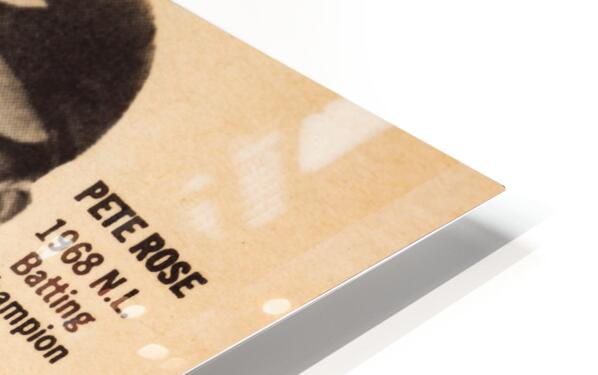 1969 Louisville Slugger Pete Rose Ad HD Sublimation Metal print