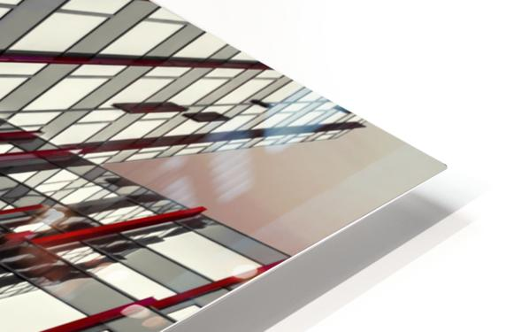 red lines by Gilbert Claes  HD Sublimation Metal print