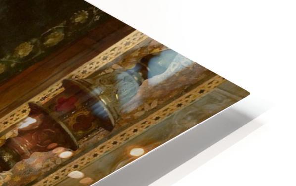Le Sultan et son Tigre HD Sublimation Metal print