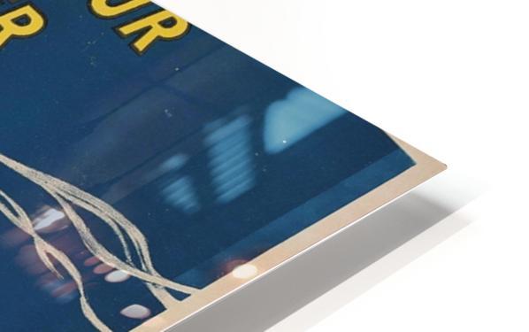 Pneu Velo Michelin HD Sublimation Metal print