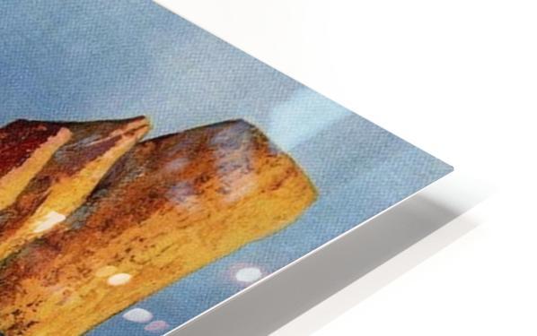 Vintage Capri HD Sublimation Metal print