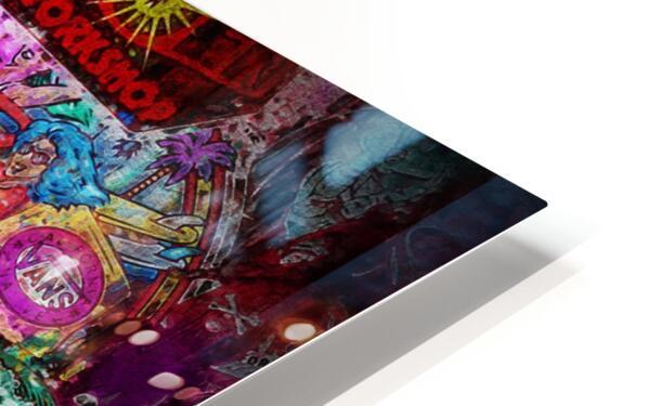 Big Street art  HD Sublimation Metal print