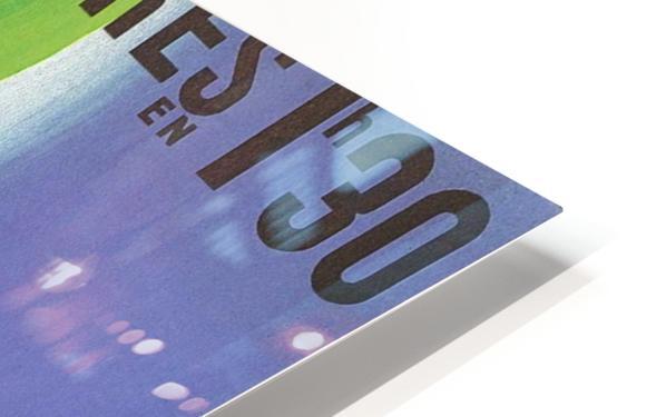 Paris Londer HD Sublimation Metal print