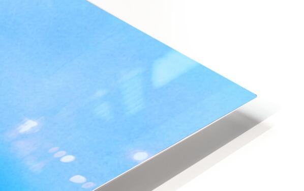 los angeles skyline art HD Sublimation Metal print
