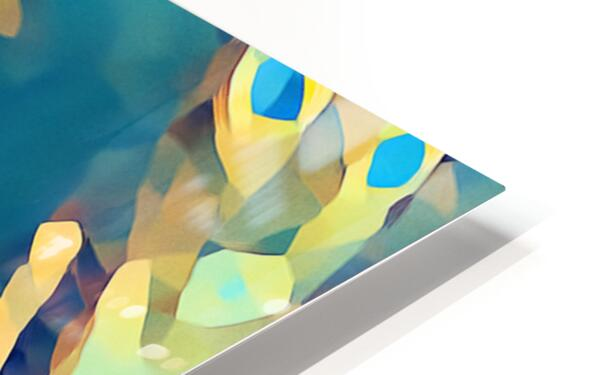 Inside of Glass HD Sublimation Metal print