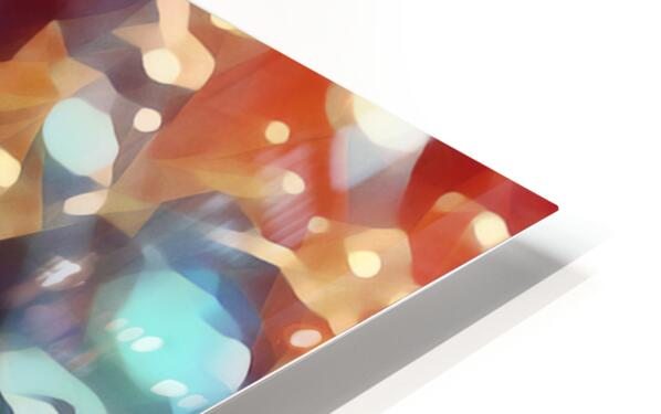 coffee bubbles art HD Sublimation Metal print