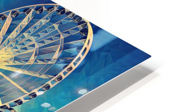 seattle great wheel HD Sublimation Metal print