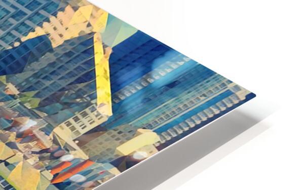 seattle skyline HD Sublimation Metal print