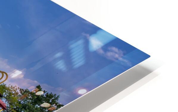 Norfolk & Western Caboose HD Sublimation Metal print