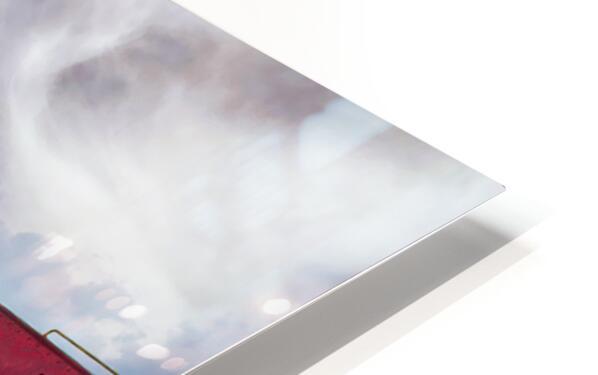 Caboose HD Sublimation Metal print