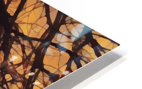 winter blast HD Sublimation Metal print