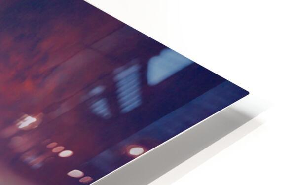 Beech B18 Inverted Flight HD Sublimation Metal print
