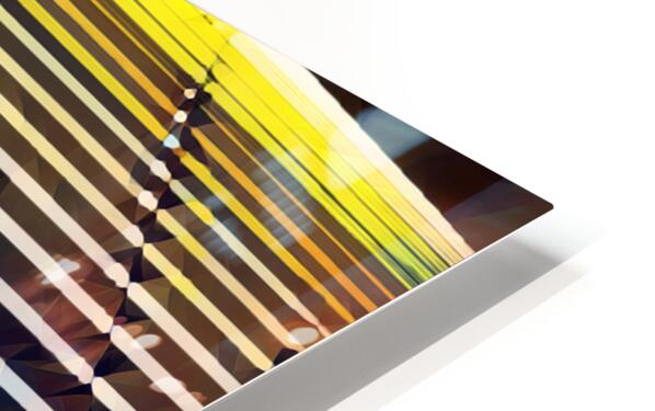 Window Blinds HD Sublimation Metal print