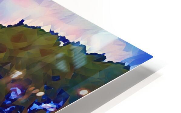 summer evening HD Sublimation Metal print