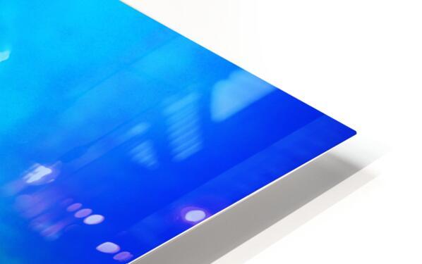 blue yellow magic HD Sublimation Metal print