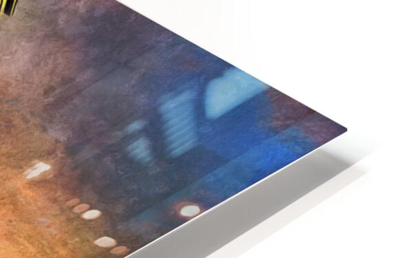 Backyard HD Sublimation Metal print